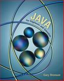 Java for Engineers and Scientists, Bronson, Gary J., 0534384536