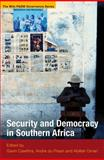 Security and Democracy in Southern Africa, , 1868144534