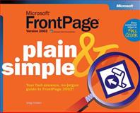 Microsoft FrontPage 2002, Holden, Greg, 0735614539