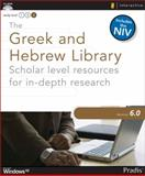 The Greek and Hebrew Library 6. 0 for Windows, , 0310274532