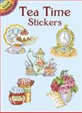 Tea Time Stickers, Joan O'Brien, 0486434532