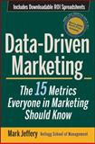 Data-Driven Marketing, Mark Jeffery, 0470504544