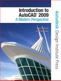 Introduction to AutoCAD 2009 : A Modern Perspective, Richard, Paul and Fitzgerald, Jim, 0136034543