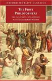 The First Philosophers, , 0192824546