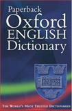 Paperback Oxford English Dictionary, , 0198604548
