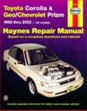 Toyota Corolla and Geo/Chevrolet Prizm 1993 Thru 2002, Jay Storer and John Haynes, 1563924552