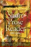 The Simon and Schuster Short Prose Reader, Funk, Robert W. and McMahan, Elizabeth, 0136014550