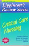 Critical Care Nursing, Valenti, Linda and Tamblyn, Rosemary, 0397554559