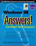 Windows 98 Answers! : Certified Tech Support, Matthews, Martin S., 0078824559