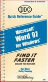 Microsoft Word 97, Mayo, Don and Vesecky, Cathy, 1562434551