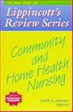 Community and Home Health Nursing, Allender, Judith Ann, 0397554567