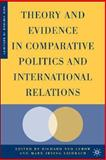 Theory and Evidence in Comparative Politics and International Relations, Lichbach, Mark Irving, 140397456X