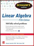 Linear Algebra : 568 Solved Problems, Lipschutz, Seymour and Lipson, Marc, 0071794565