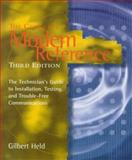 The Complete Modem Reference, Gilbert Held, 0471154571
