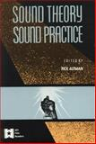 Sound Theory - Sound Practice, , 0415904579