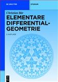 Elementare Differentialgeometrie, Bähr, Christa, 3110224585