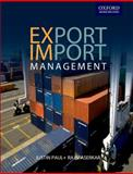 Export Import Management, Paul, Justin and Aserkar, Rajiv, 0195694589