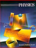 Student Solutions Manual to Accompany Physics, Halliday, David, 0471804584