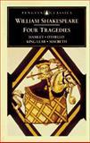 Four Tragedies, William Shakespeare, 0140434585