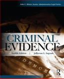 Criminal Evidence, Ingram, Jefferson L., 0323294588