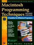 Macintosh Programming Techniques, Dan P. Sydow, 1558514589