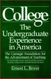 College : The Undergraduate Experience in America, Boyer, Ernest L. and Carnegie Foundation for the Advancement of Teaching Staff, 0060914580