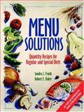 Menu Solutions 9780471554585