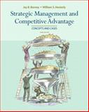 Strategic Management and Competitive Advantage, Barney, Jay and Hesterly, William S., 0136094589