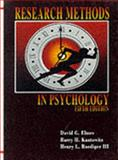 Research Methods in Psychology, Elmes, David G. and Kantowitz, Barry H., 0314044582