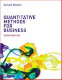 Quantitative Methods for Business, Waters, Donald, 0273694588