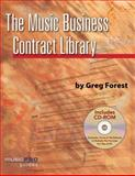 The Music Business Contract Library, Greg Forest, 1423454588