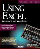 Using Excel Version 5 for Windows, Special Edition, Pearson, Ron, 1565294599