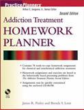 Addiction Treatment Homework Planner, Finley, James R. and Lenz, Brenda S., 0471274593