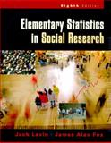 Elementary Statistics in Social Research 9780321044600
