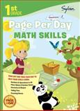 First Grade Page per Day: Math Skills, Sylvan Learning Staff, 0307944603
