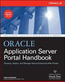Oracle Application Server Portal Handbook, Ostrowski, Chris, 0072264608