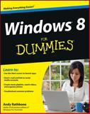 Windows 8 for Dummies, Andy Rathbone, 1118134613