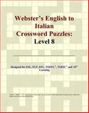 Webster's English to Italian Crossword Puzzles, Icon Reference Staff, 0497254611