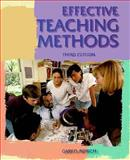 Effective Teaching Methods, Borich, Gary D., 002312461X
