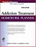 Addiction Treatment Homework Planner, Finley, James R. and Lenz, Brenda S., 0471774618