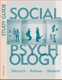 Social Psychology, Gilovich, T. D., 0393934616