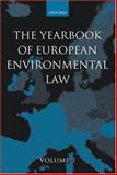 The Yearbook of European Environmental Law 9780199254620