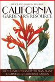 California  -Gardener's Resource, Bruce Asakawa and Sharon Asakawa, 1591864623
