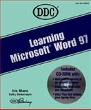 Learning Microsoft Word 97, Blanc, Iris, 1562434624