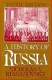 A History of Russia, Riasanovsky, Nicholas V., 0195074629