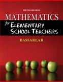 Mathematics for Elementary School Teachers, Bassarear, Tom, 0840054637