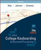 Gregg College Keyboarding and Document Processing, Ober, Scot and Johnson, Jack, 0077824636