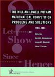 The William Lowell Putnam Mathematical Competition, , 0883854635