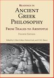 Readings in Ancient Greek Philosophy : From Thales to Aristotle, S. Marc Cohen, 1603844635