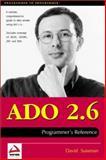 ADO 2.6 Programmer's Reference, Sussman, David, 186100463X